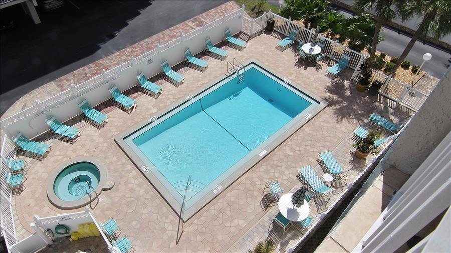 Complex Pool from Balcony