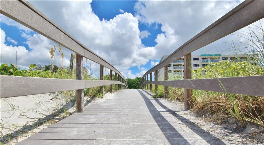 Beach Access at end of Walkway