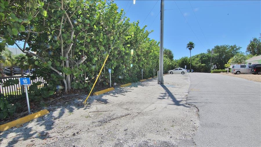 Beach Parking across from Cottages