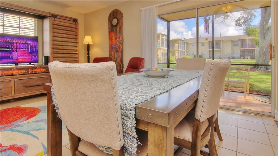 Dining Table & Patio