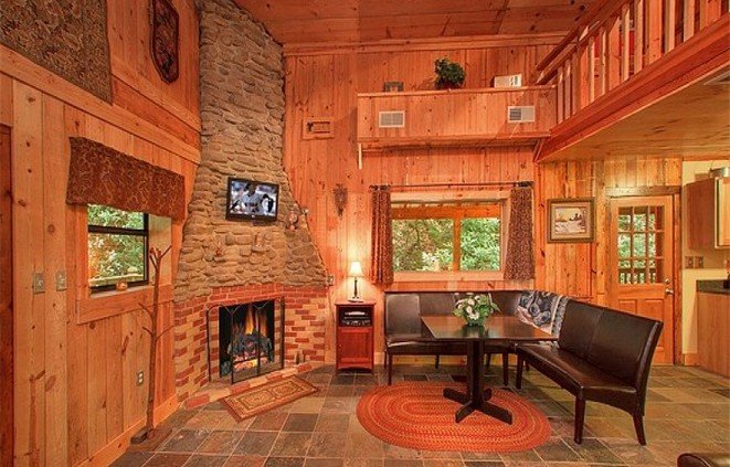 Cottage on the creek place to stay on vacation 1 bedroom for 6 bedroom cabin rentals in gatlinburg tn