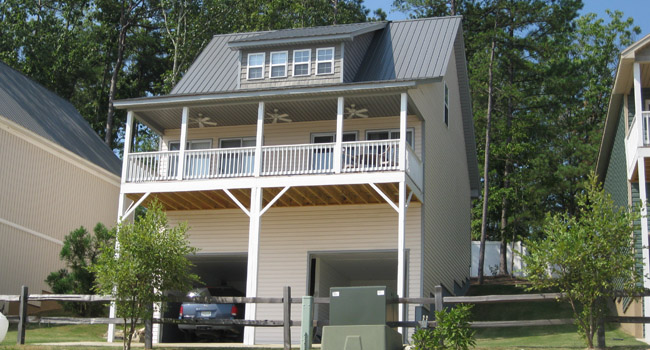 Weiss Lake vacation home rental