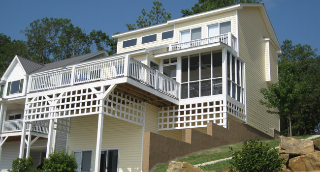 4 bedroom vacation home for rent on Weiss Lake