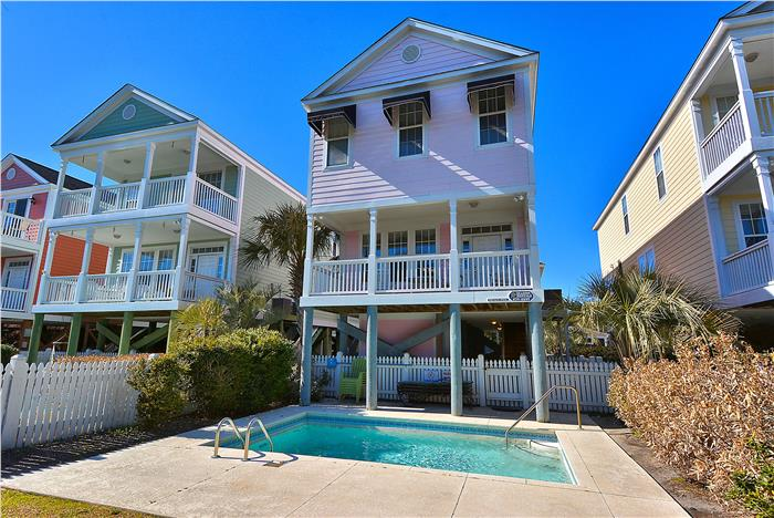 pp27nd pink paradise 5 bedroom vacation house rental surfside