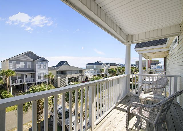 Surfside Beach House Rental With Pool