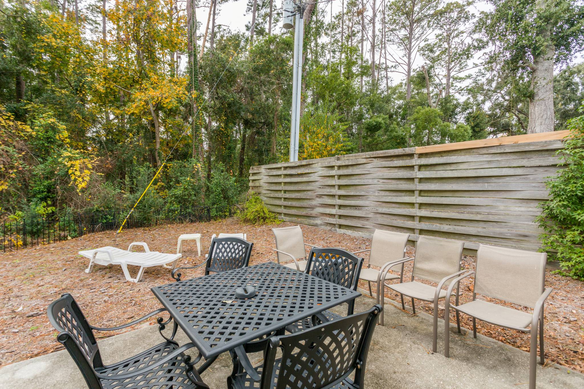 Outdoor at 162 TOLUCA on St. Simons Island