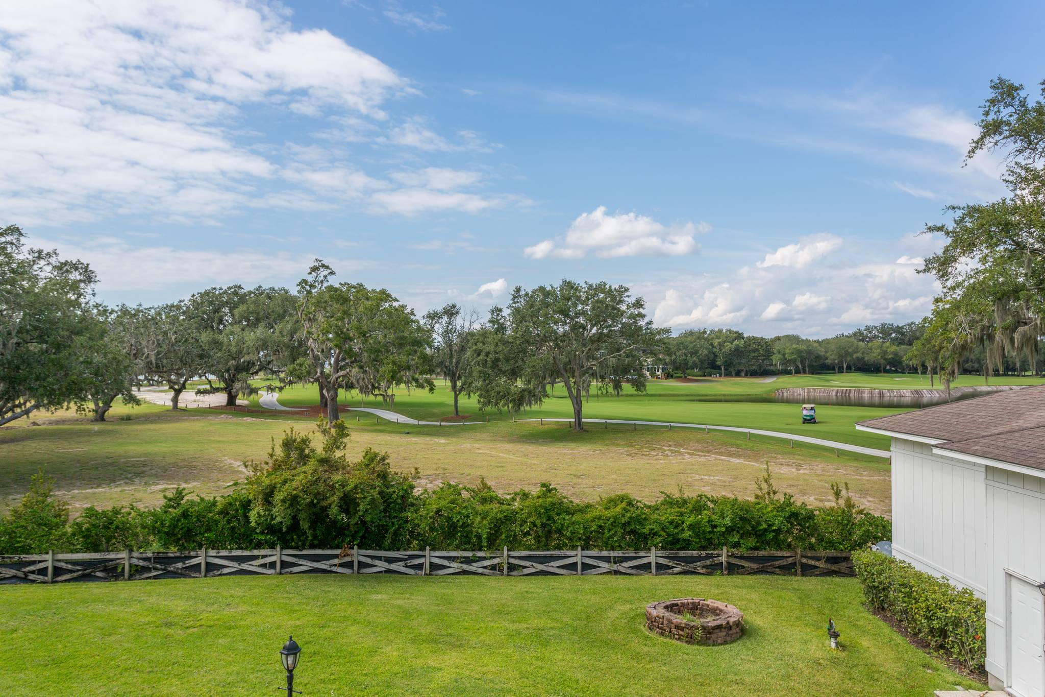 View from 154 Gould St on St Simons Island