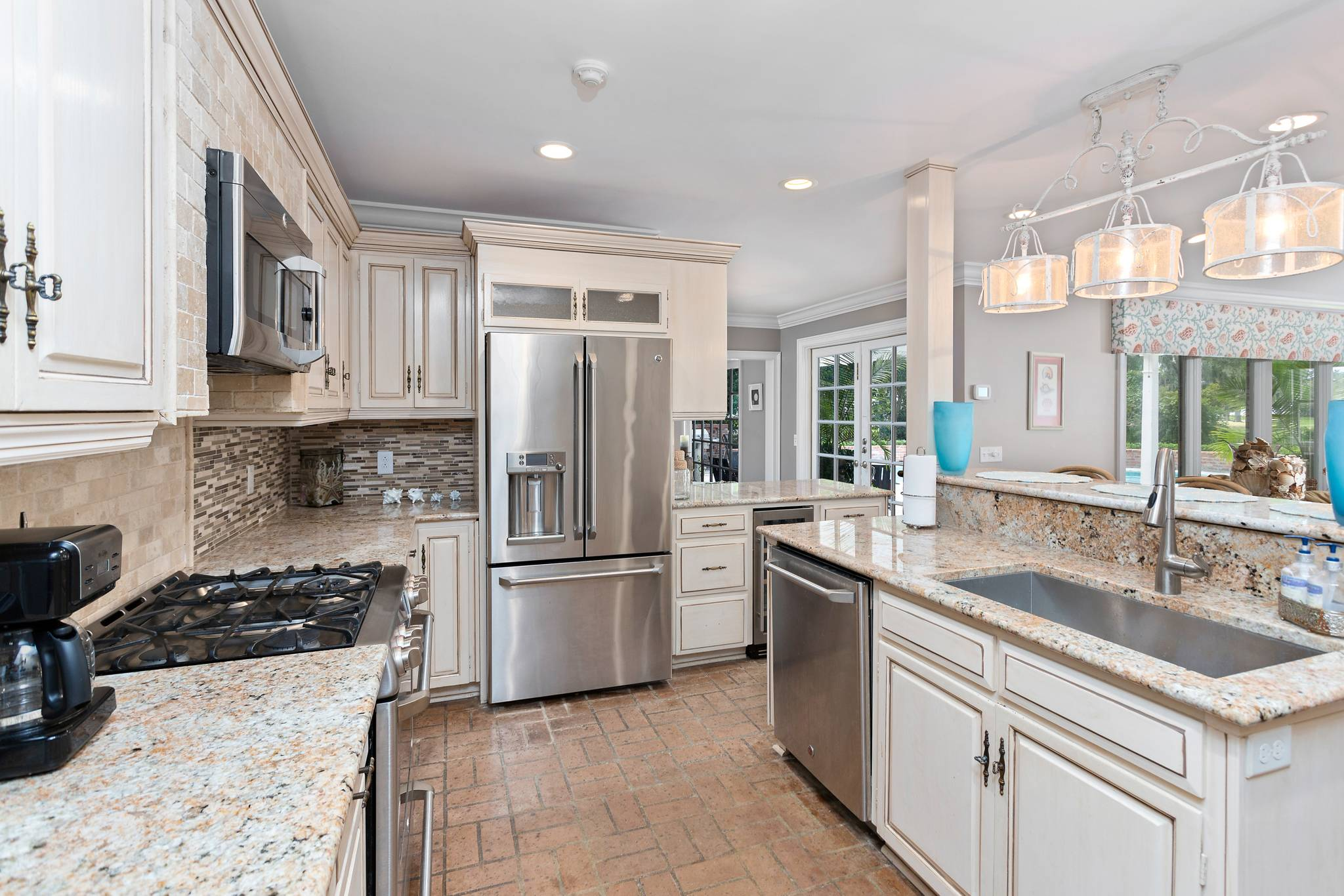 Kitchen at 154 Gould St on St Simons Island