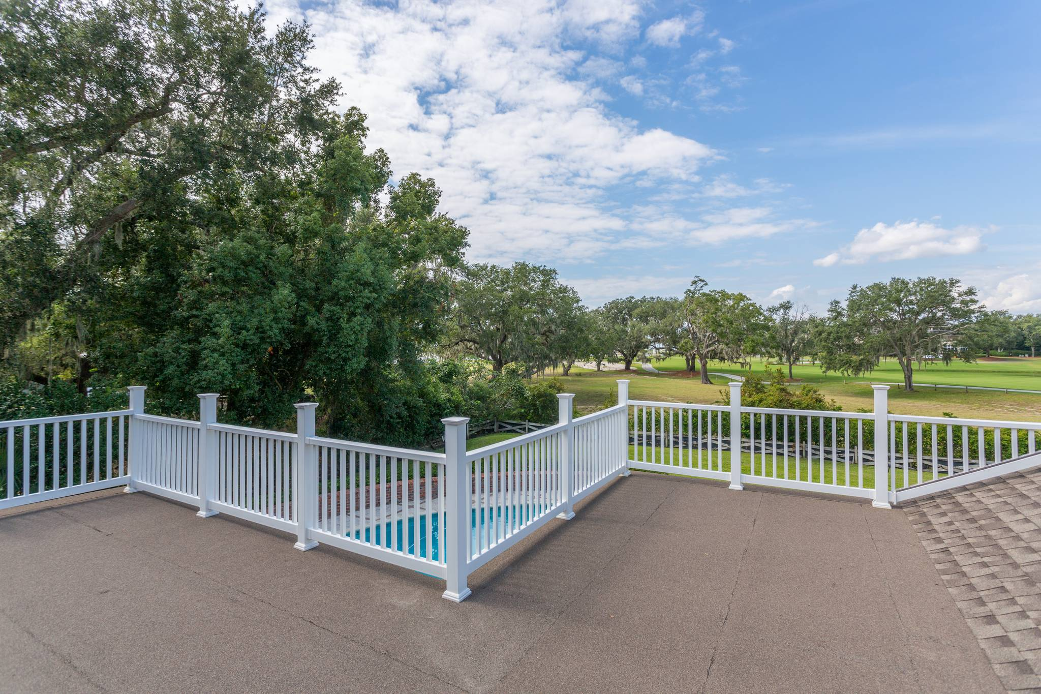 Deck at 154 Gould St on St Simons Island