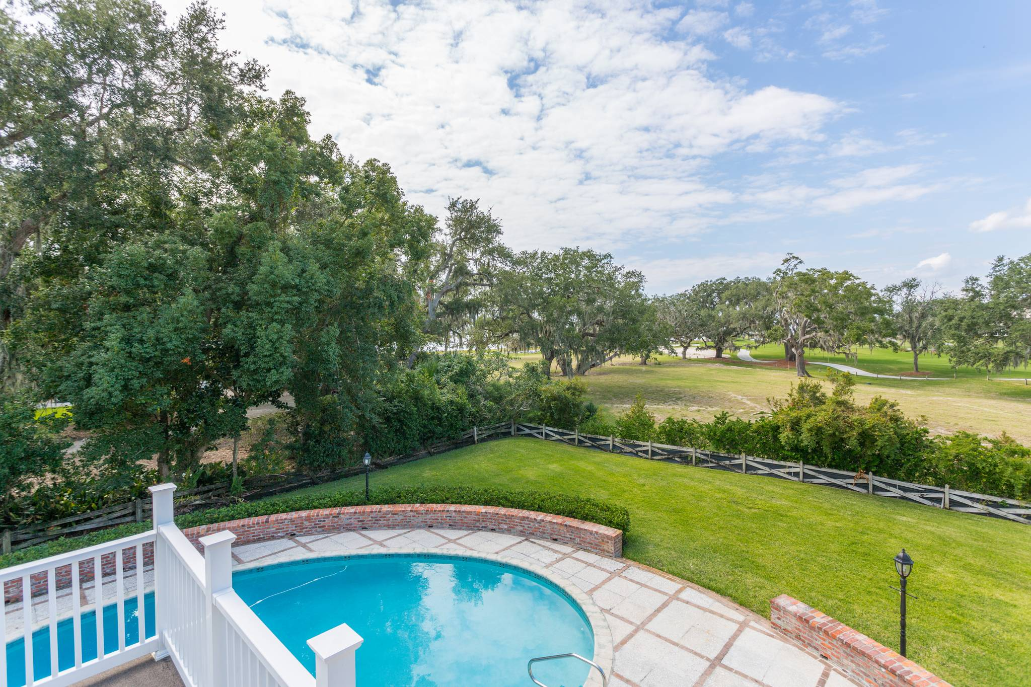 Deck View at 154 Gould St on St Simons Island