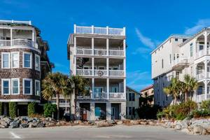 Shasta's Beach House II-St. Simons Island, GA-Balcony with breathtaking ocean view-Real Escapes Properties