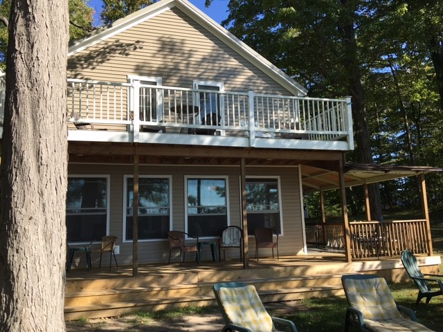 Angola Beachfront Vacation Rental - Exterior Looking out over Lake Erie
