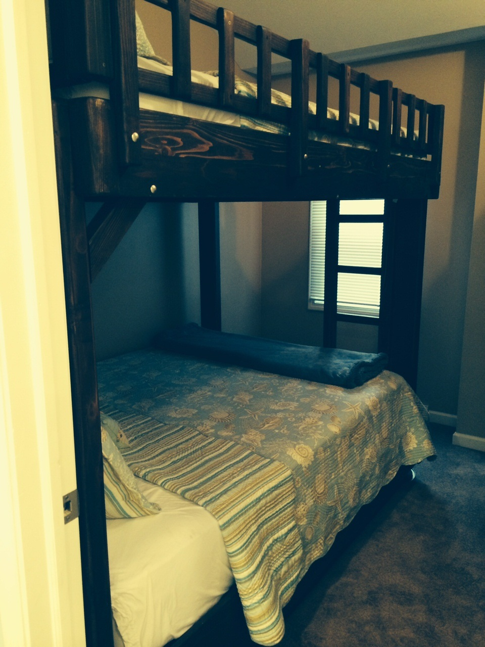 Bedroom 3 - Bunk Bed with Double on Bottom and Top
