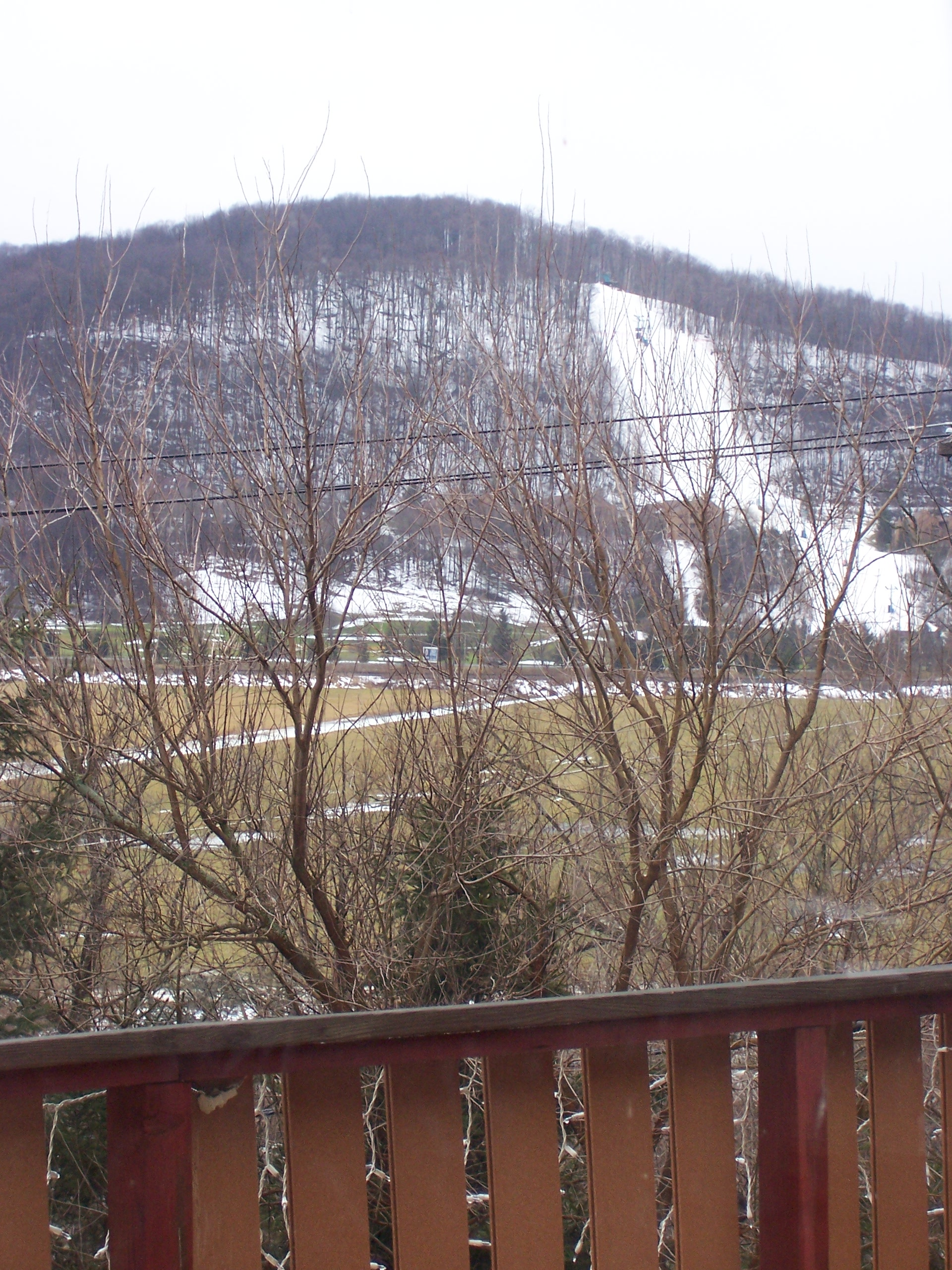 Holiday Valley from Deck