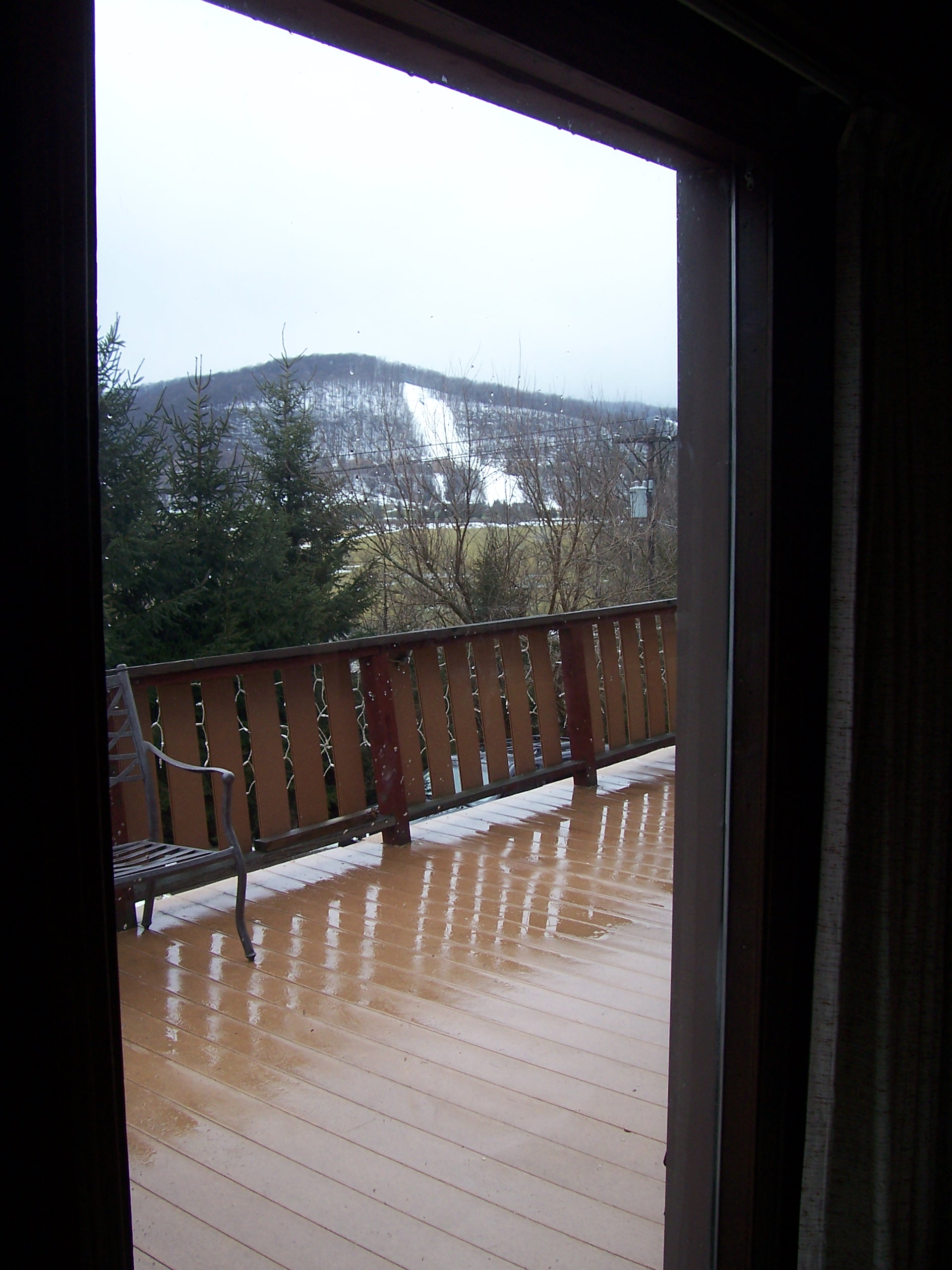 Holiday Valley Views from Wonderful Deck
