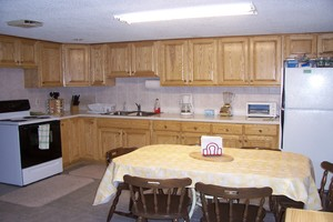 Kitchen on first level - All new