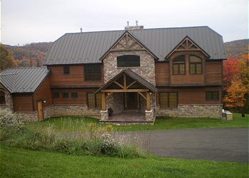 Exterior Ellicottville Vacation Home