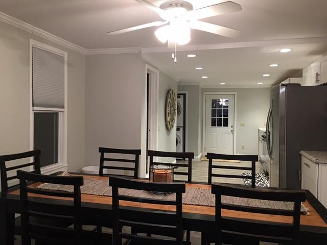 The Silver Star: Ellicottville - Dining Room, Kitchen and Entrance Door