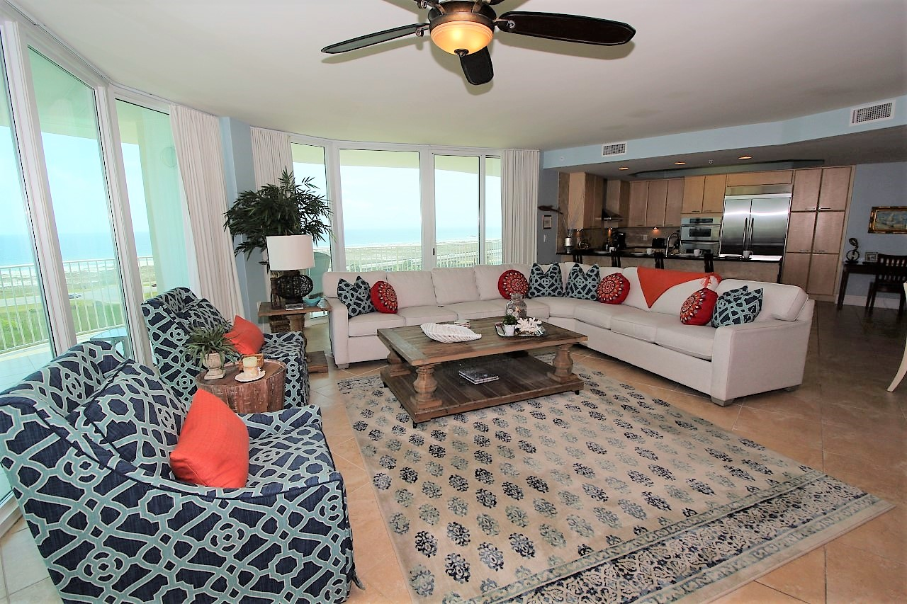 Orange Beach Family condo rentals with ocean views and pool