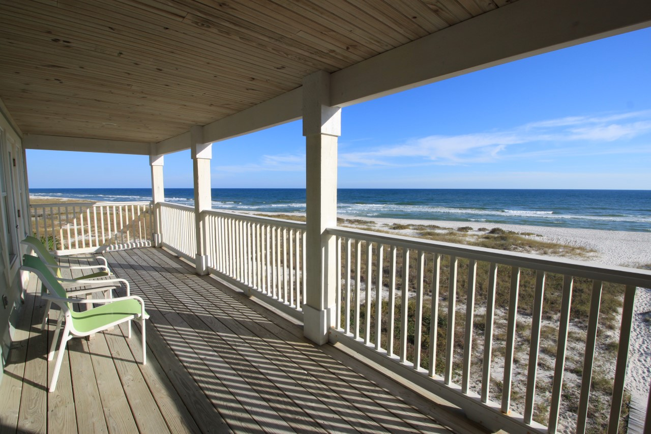 Perdido Key oceanfront vacation home for rent with 6 bedrooms
