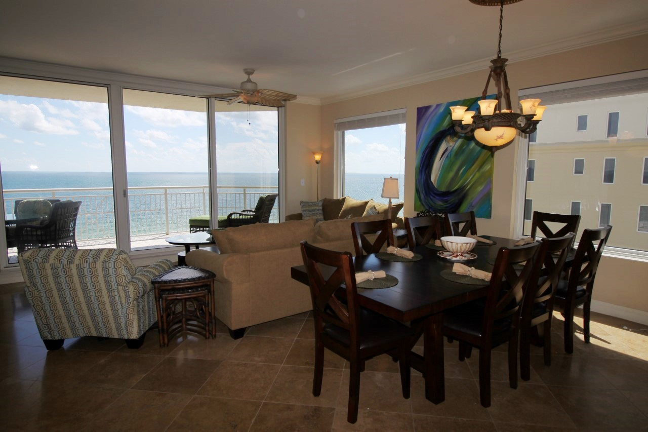 Perdido Key family vacation rental with 4 bedrooms on the beach