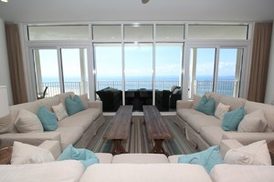 5 bedroom Perdido Key ocean front rental perfect for large groups