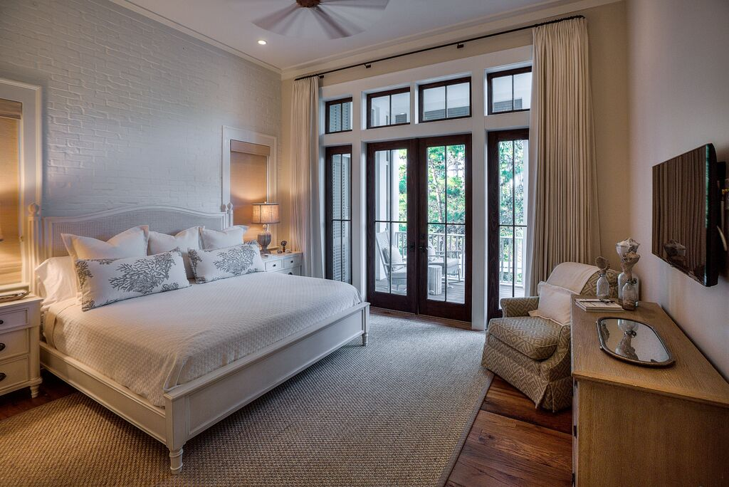 First Floor King Master Bedroom with Access to Outdoor Patio