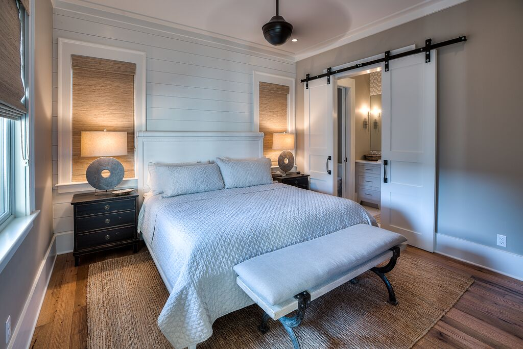King Bedroom at top of stairs on Second Floor