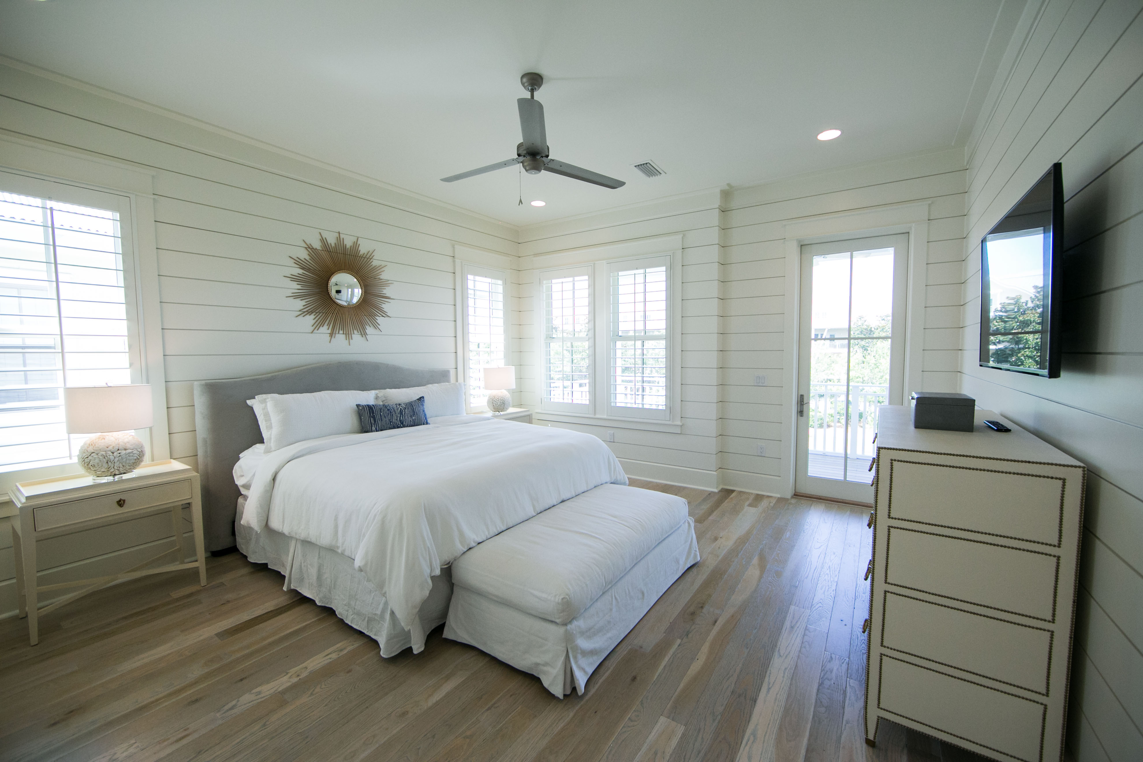 Spacious King Bedroom with Private Bath and Stand Up Shower