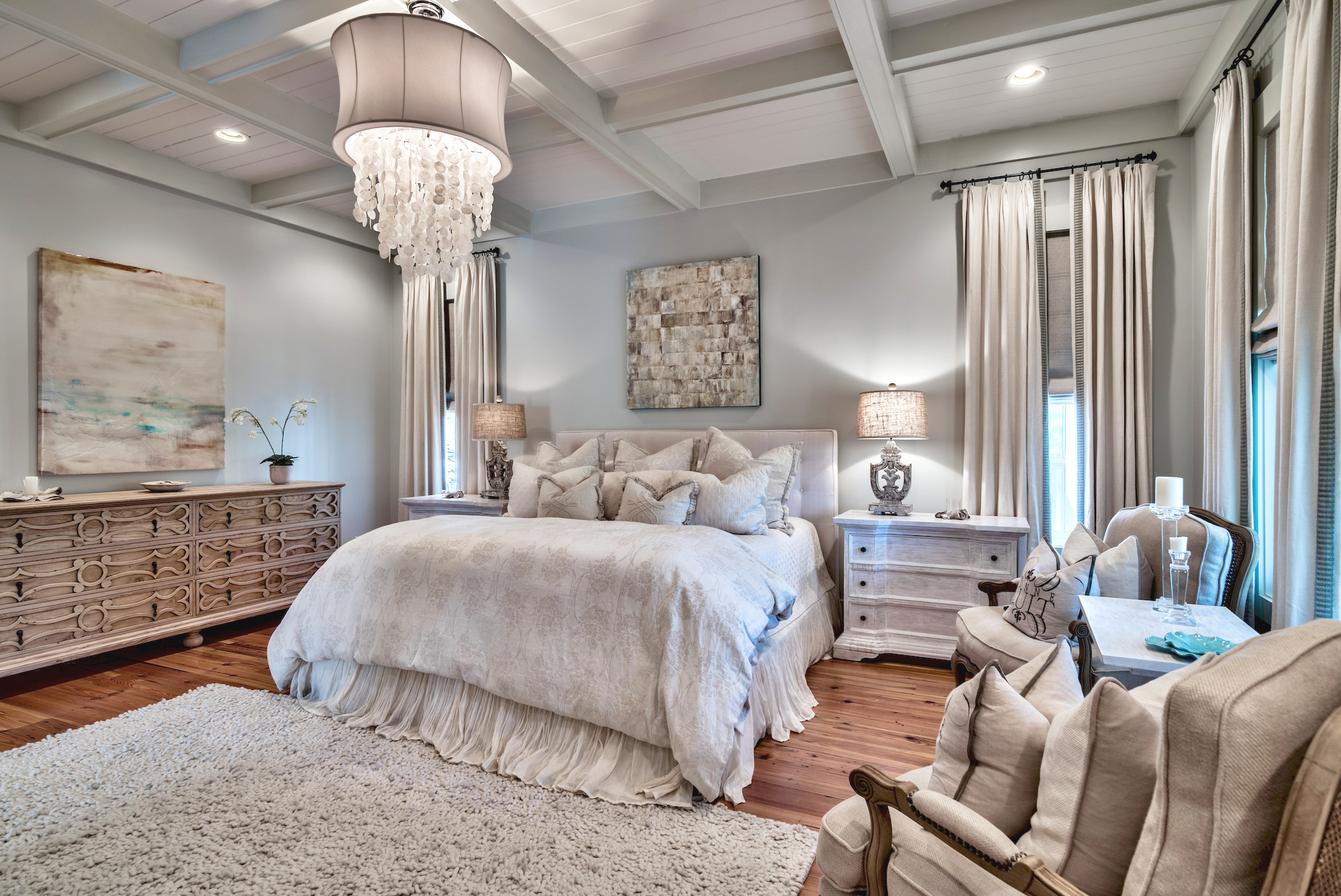 2nd Floor Master Suite with King Size Bed