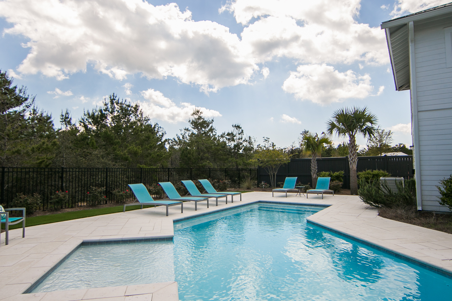 Large Private Pool with plenty of space