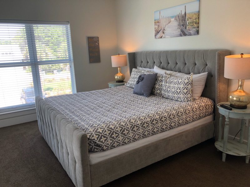 Lovely carriage house bedroom