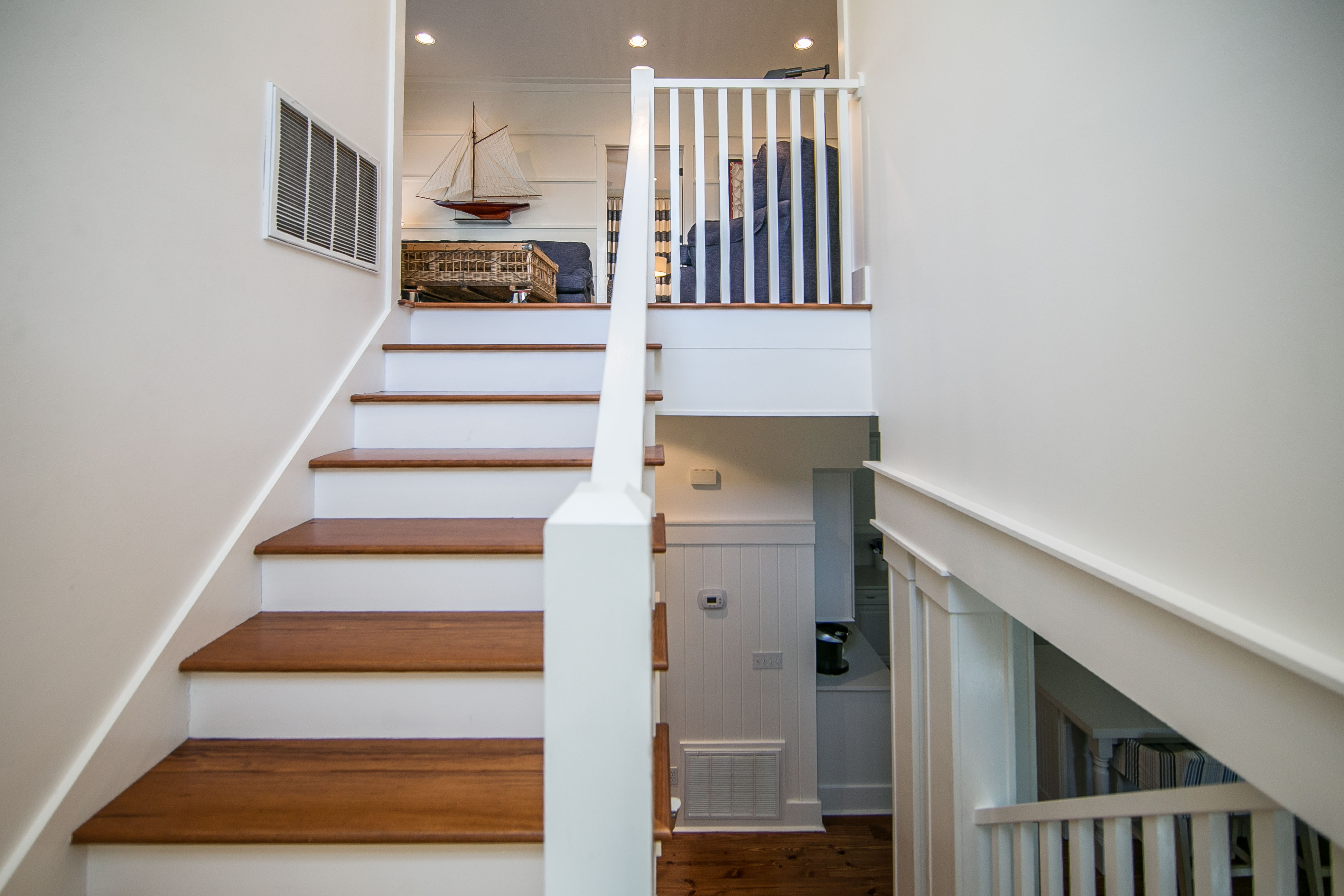 Stairway to the 2nd floor