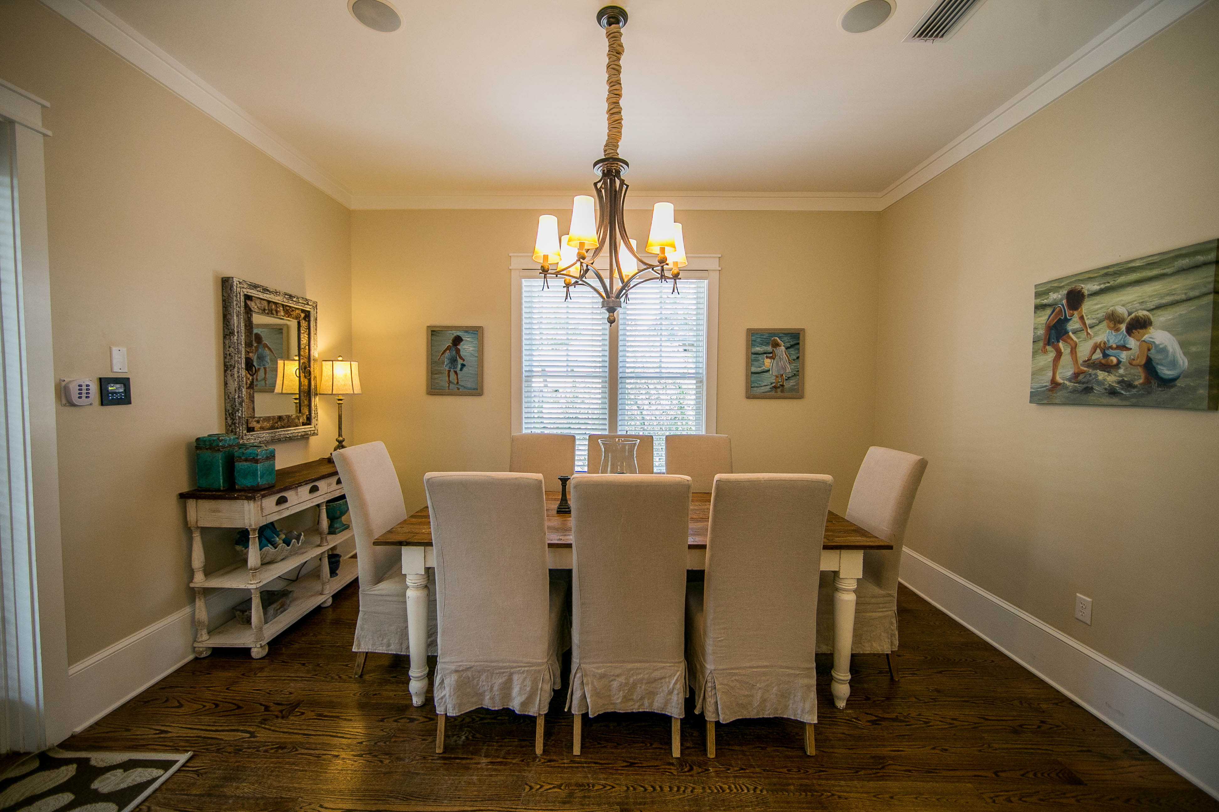 Lovely actual dining room for household dinners together