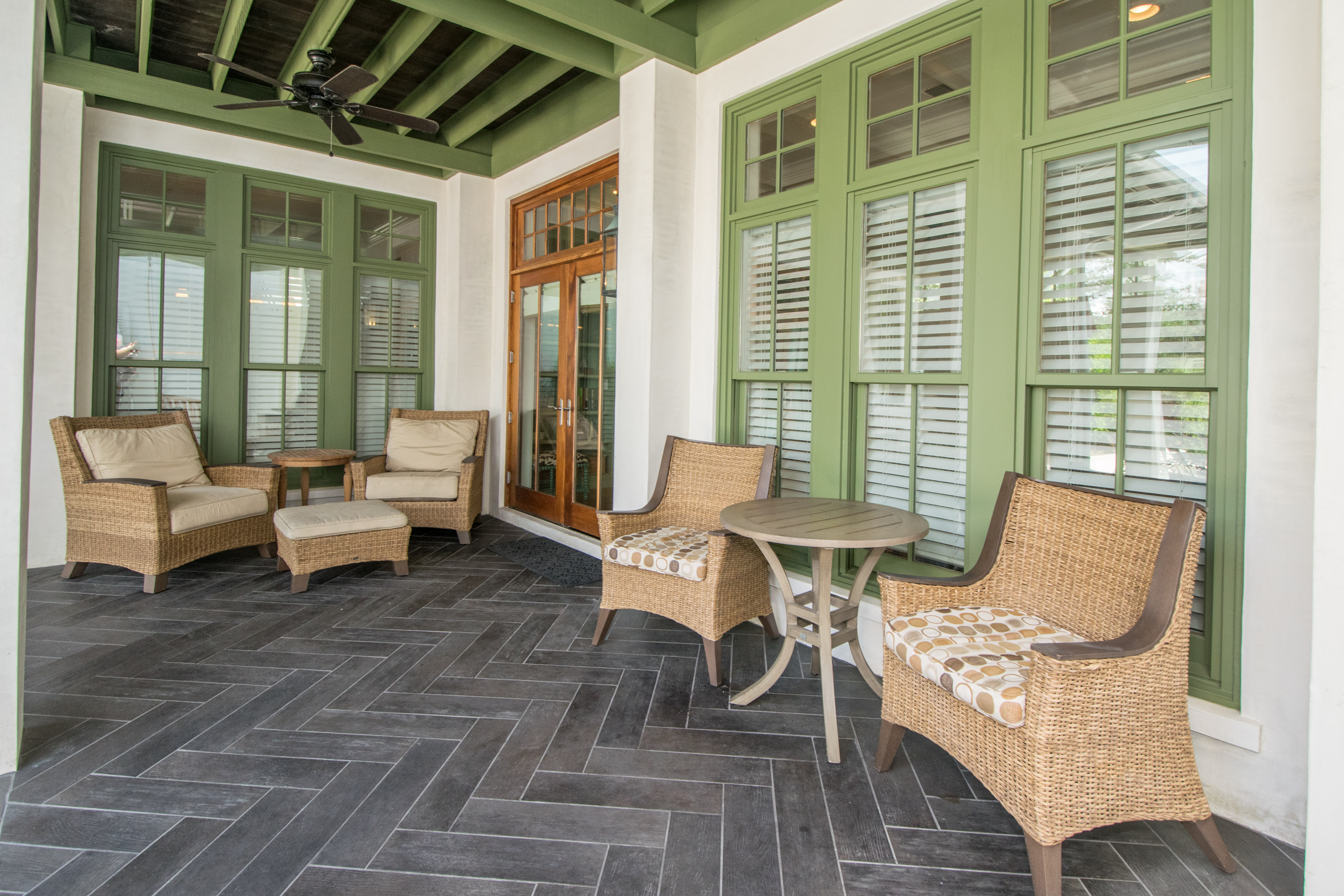 Plenty of Shaded Patio area overlooking the pool and spa