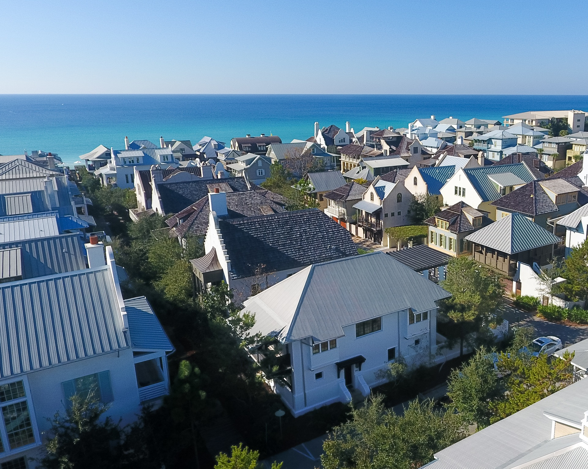 Just Steps from the Beach, Steps from Town Center and Steps from 1 of Rosemary's 4 Community Pools