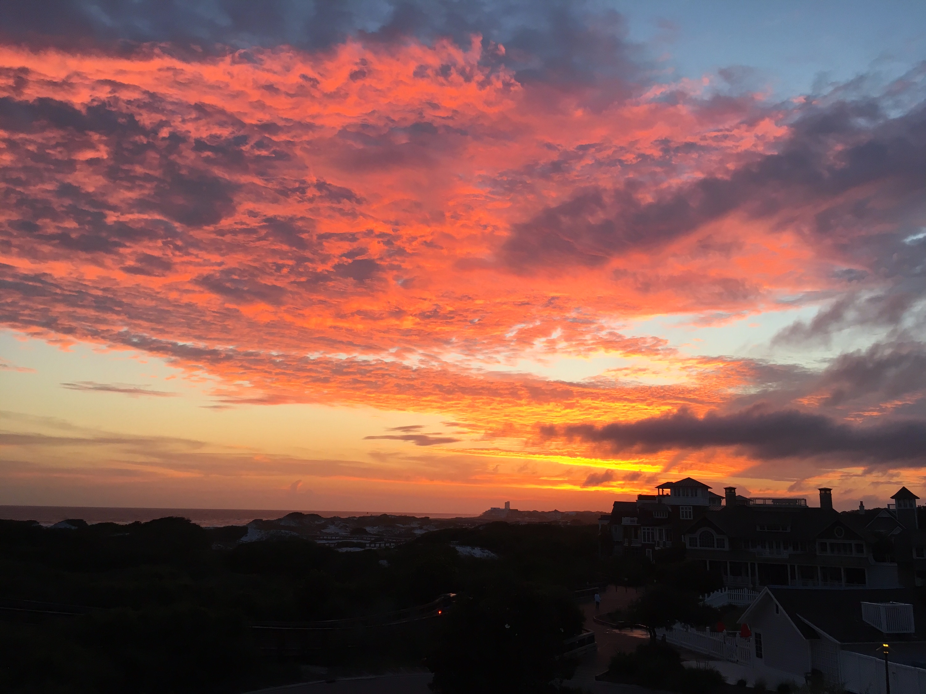 You will enjoy amazing sunsets from unit 308!