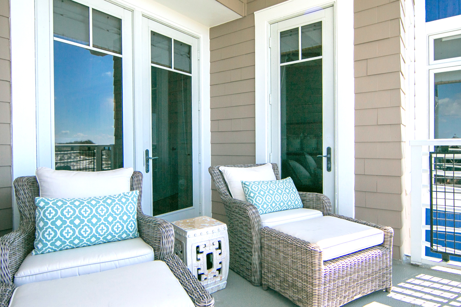 Relax and take in the salty air and read your favorite magazine or book all while the nature of WaterSound entertains you.
