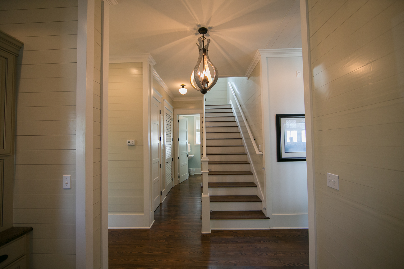 2nd Floor Staircase & Entrance to Half Bath