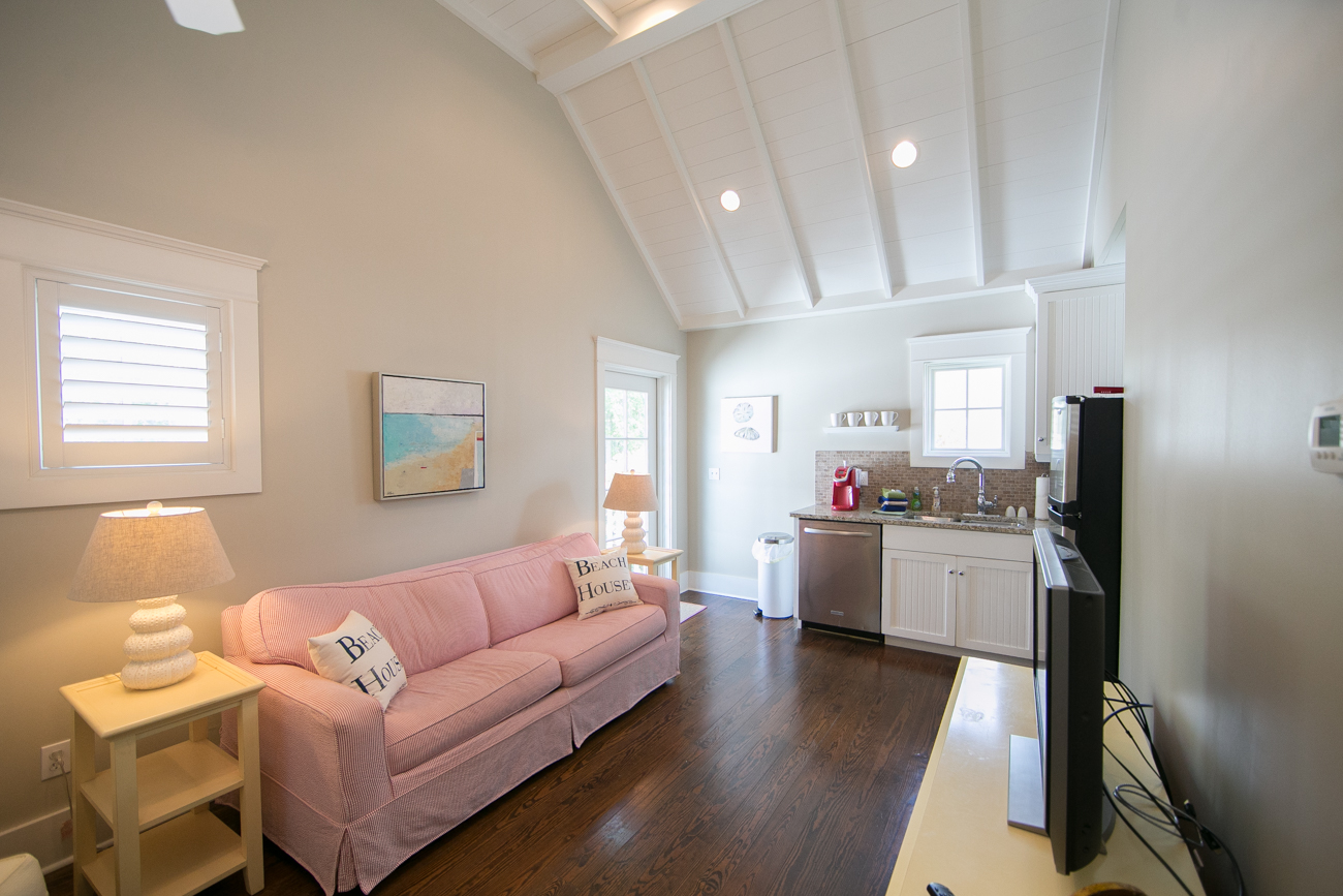 Carriage House Living & Kitchen Area