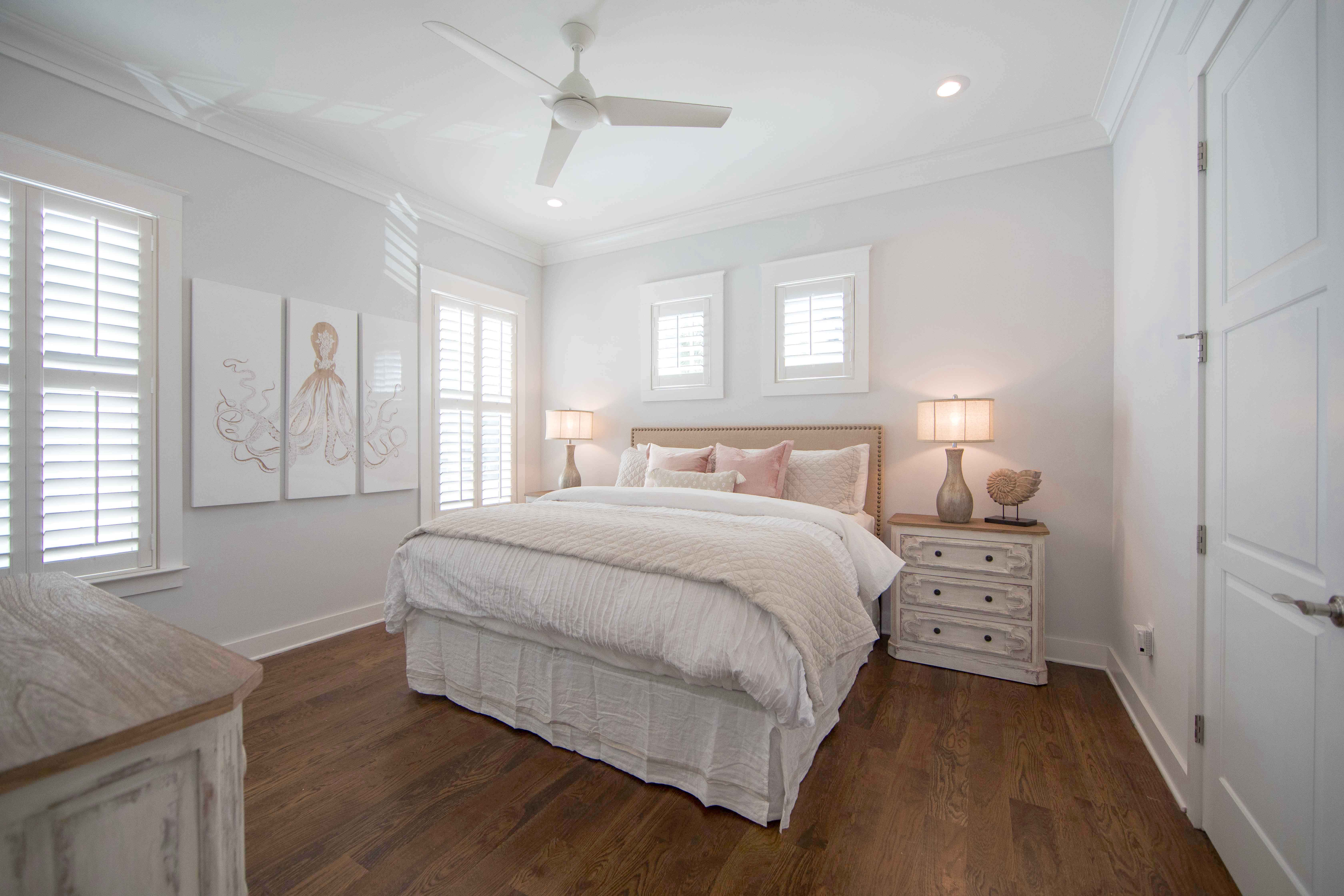 1st Floor King Master Suite with king size bed and adjoining ensuite bath