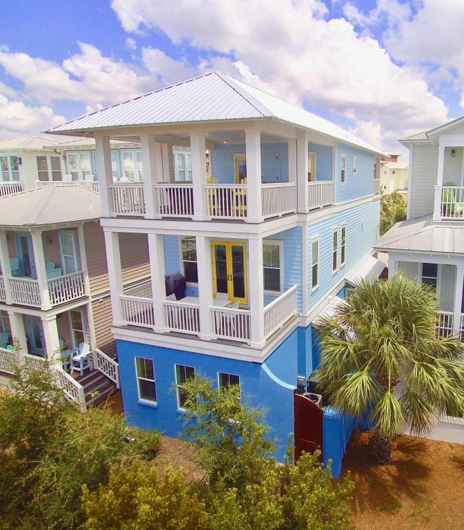 View of DREAMS COME BLUE from 30A