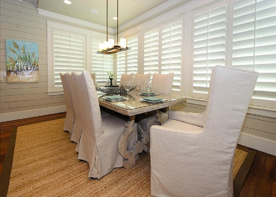 Bright and Spacious Dining Area off of the Living and Kitchen Area on Second Floor
