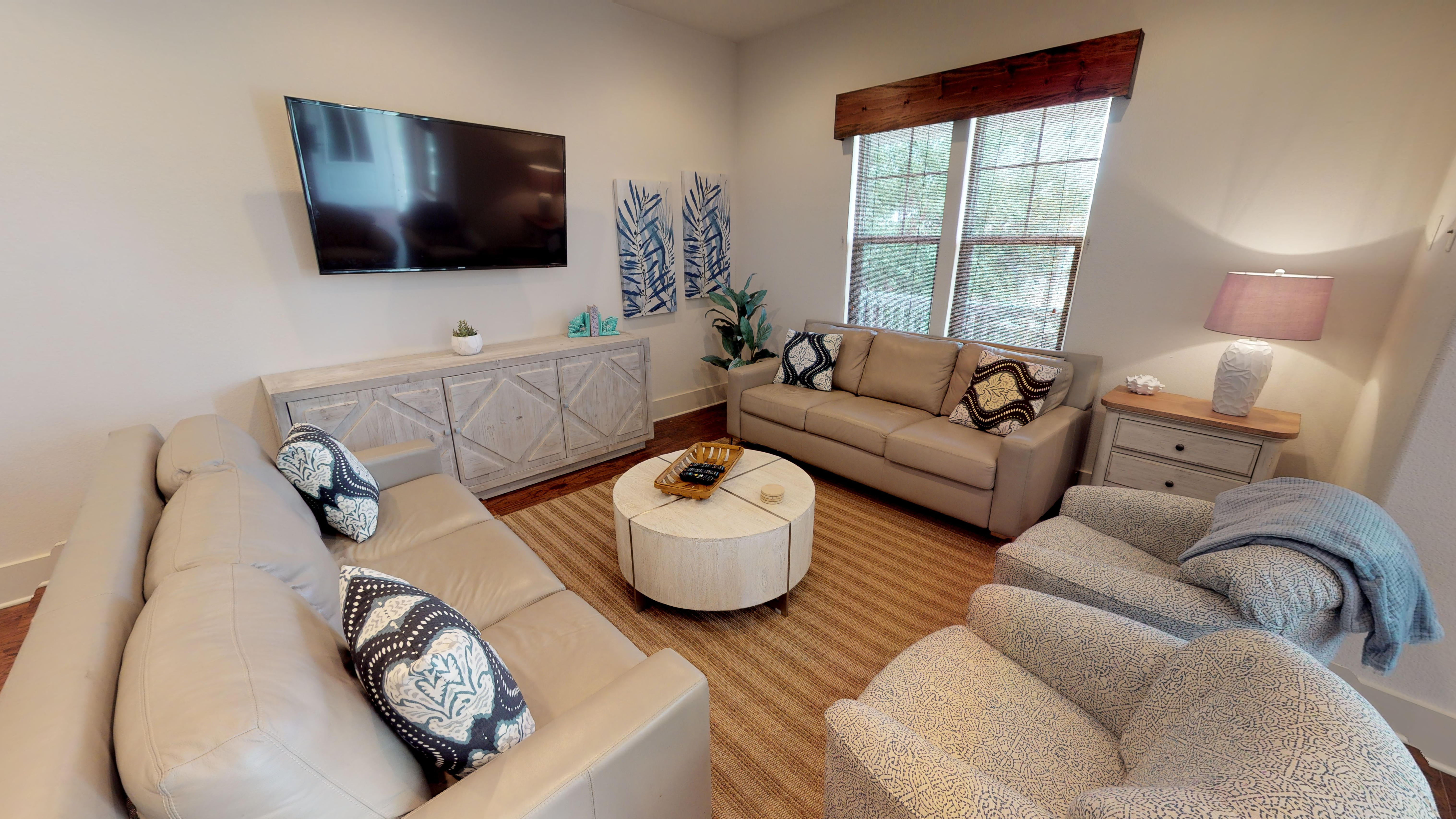 Living Space with ample seating