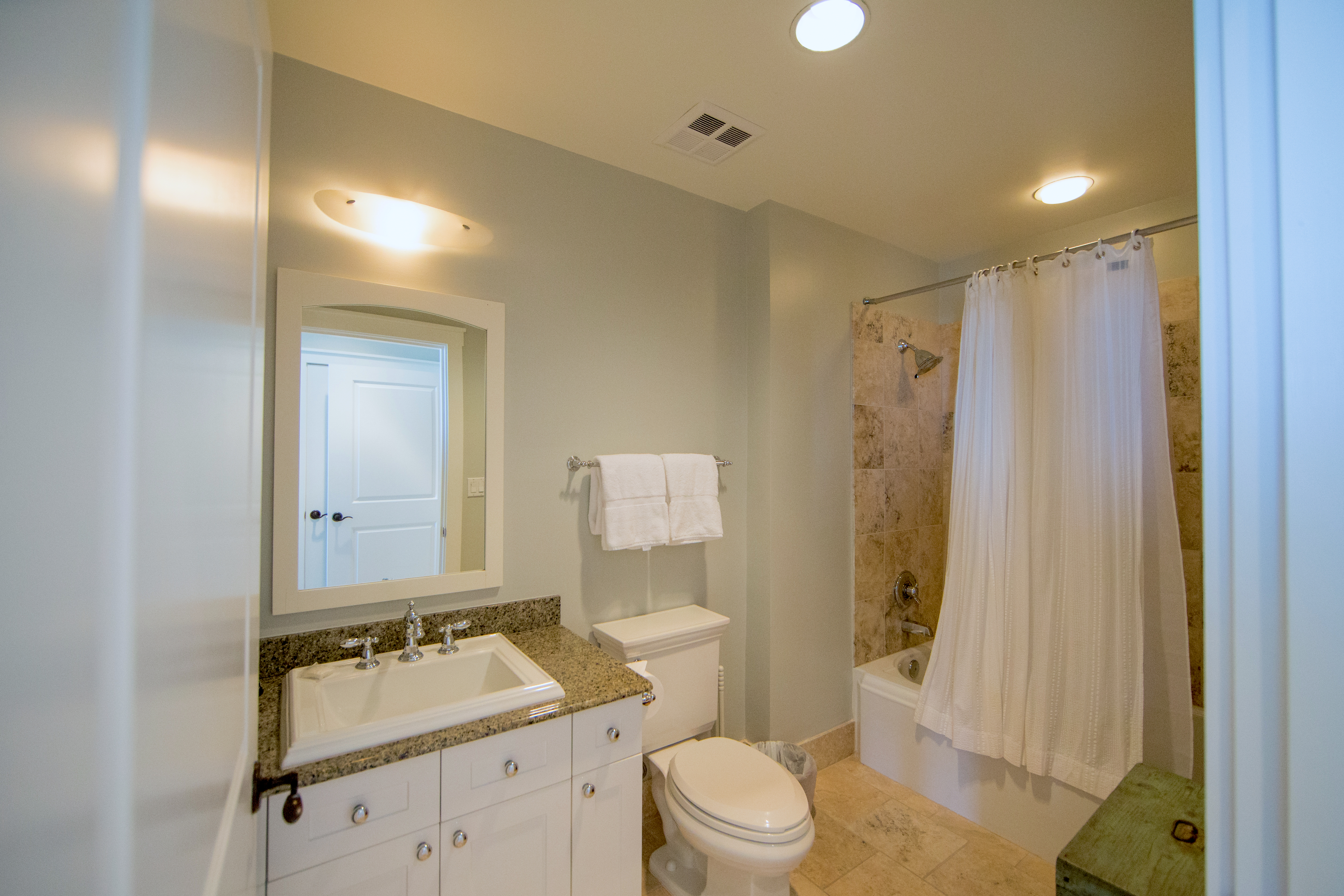Your very own Ensuite Bath for the king guest bedroom