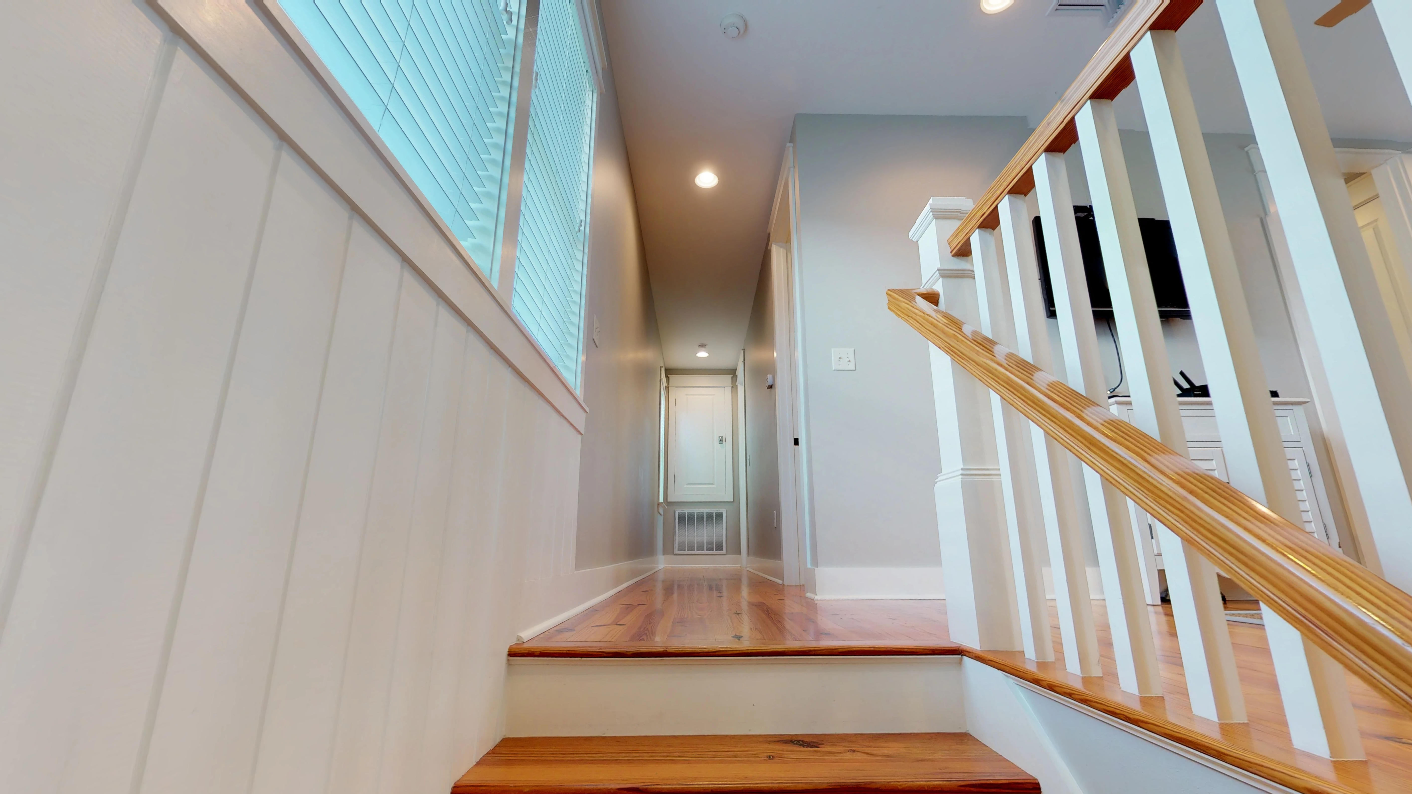 Access to Second Floor Living area