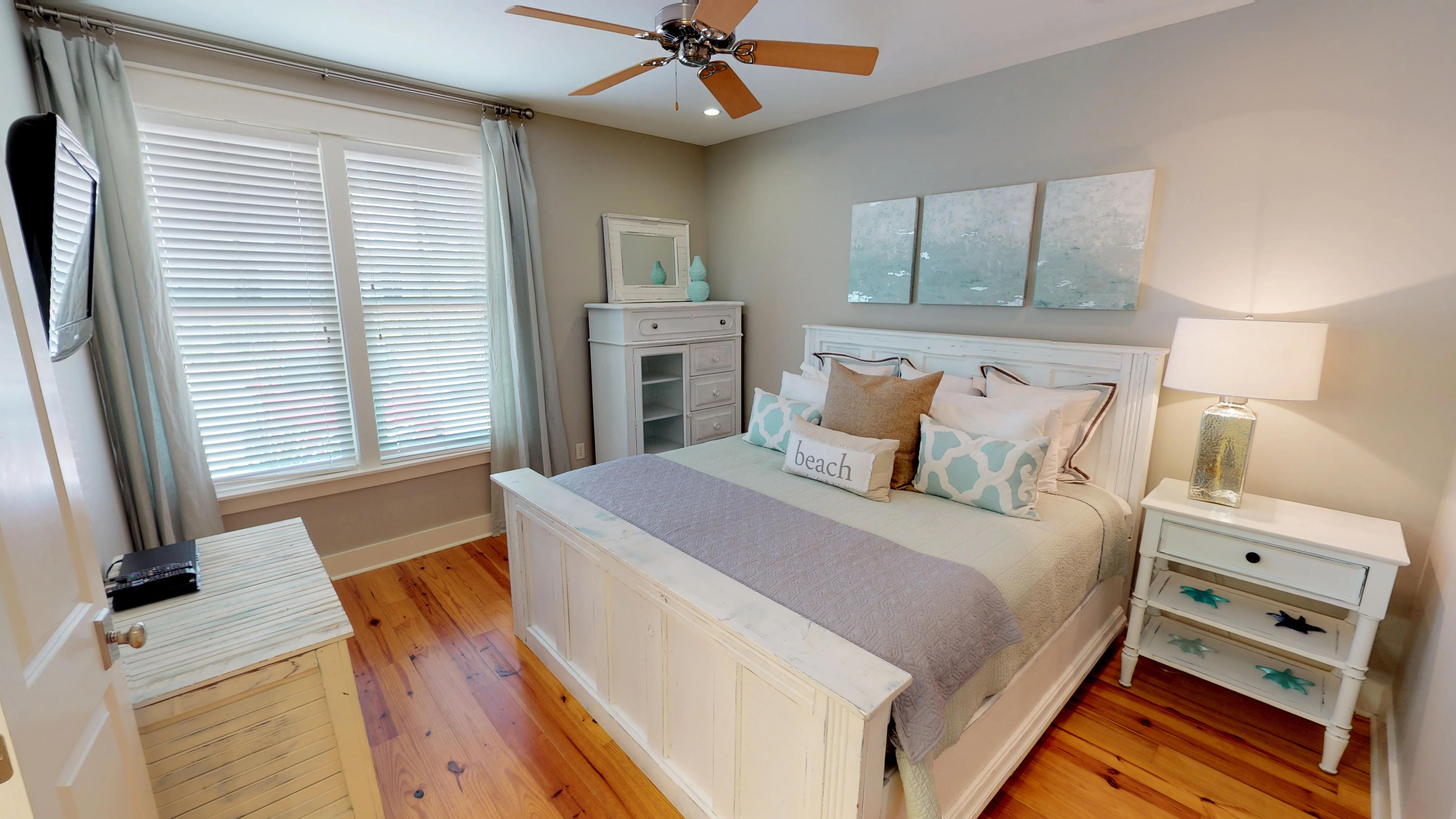 Welcoming King Sized Master Bedroom