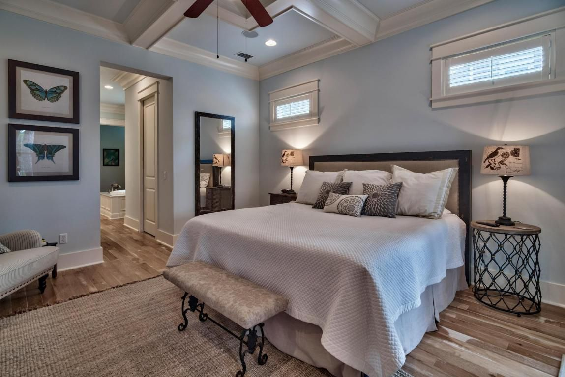 Main floor mariposa master suite with luxurious vaulted ceilings