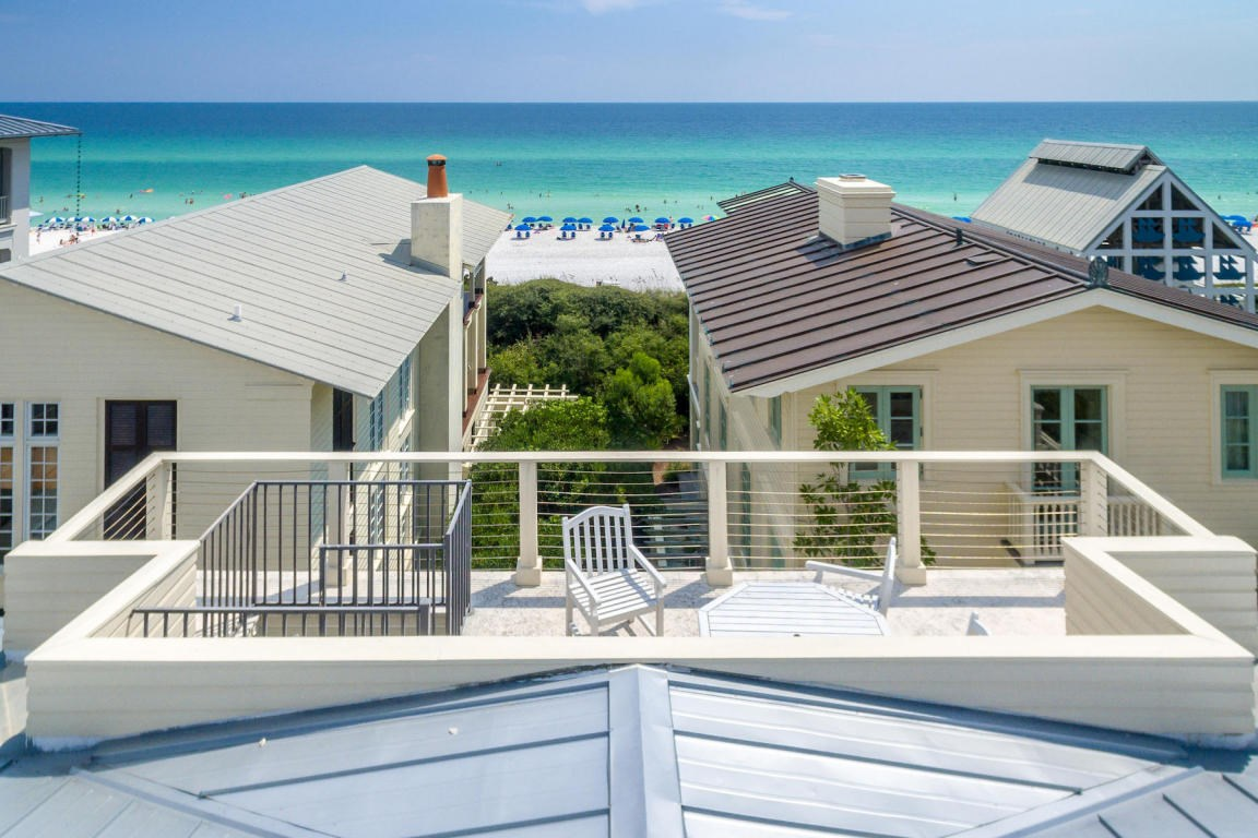 Enjoy the gulf views from this amazing viewing deck
