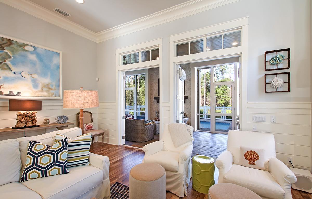 Direct access to out door living area offers natural light to this wonderful space